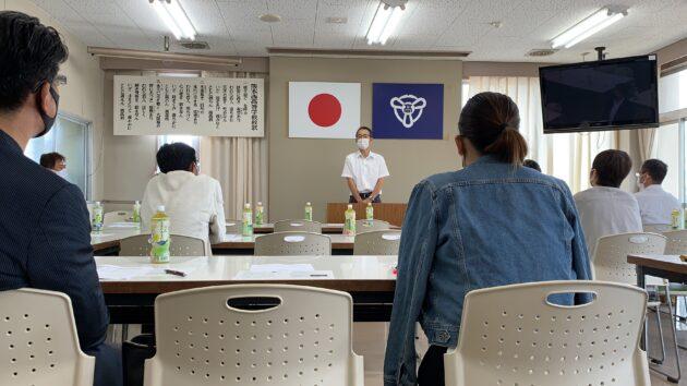 〈開催報告〉令和3年度 熊本県立熊本西高等学校 同窓会 西峰会 総会