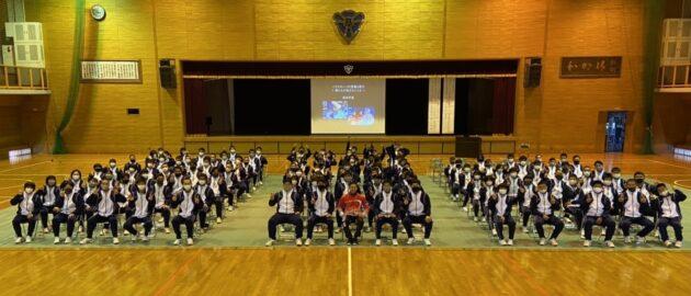 西高体育コース生対象のパラリピアン講習会